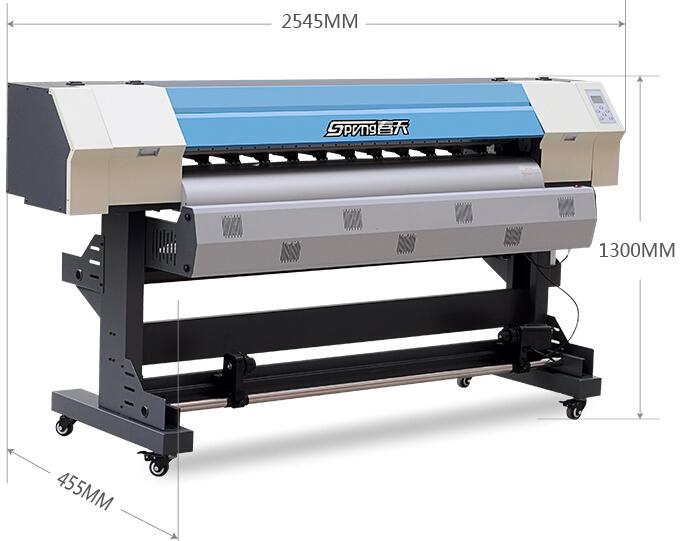 春天写真机sp-1600(爱普生五代喷头)尺寸图